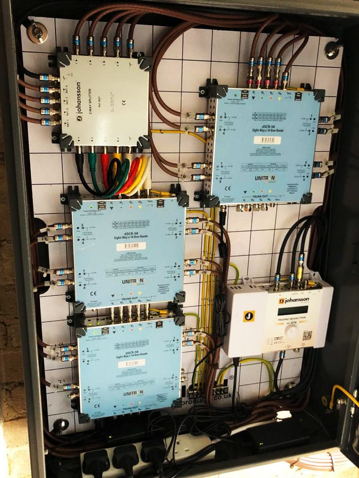 IPTV cabling