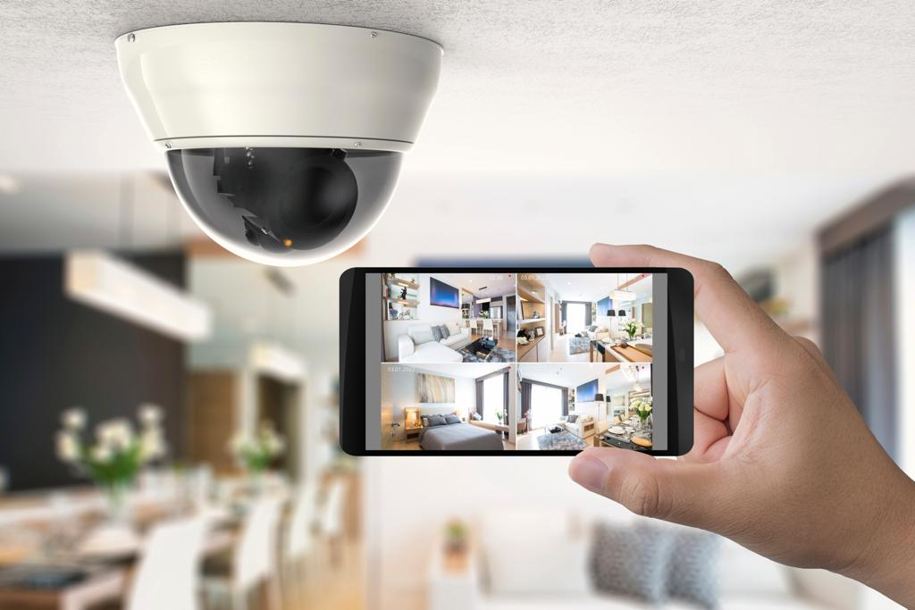 cctv system installed in the home